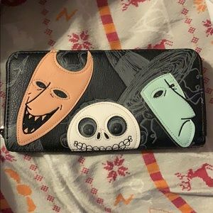 Loungefly Nightmare Before Christmas Wallet